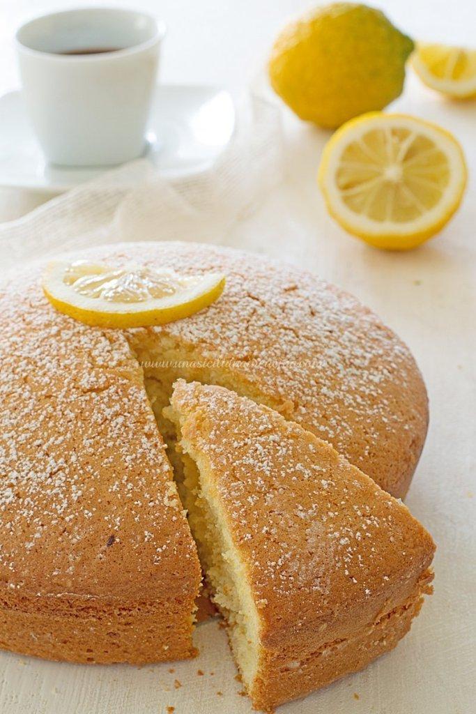 Torta limone e yogurt