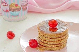Pancakes integrali allo yogurt