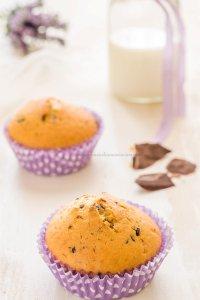 Muffins stracciatella