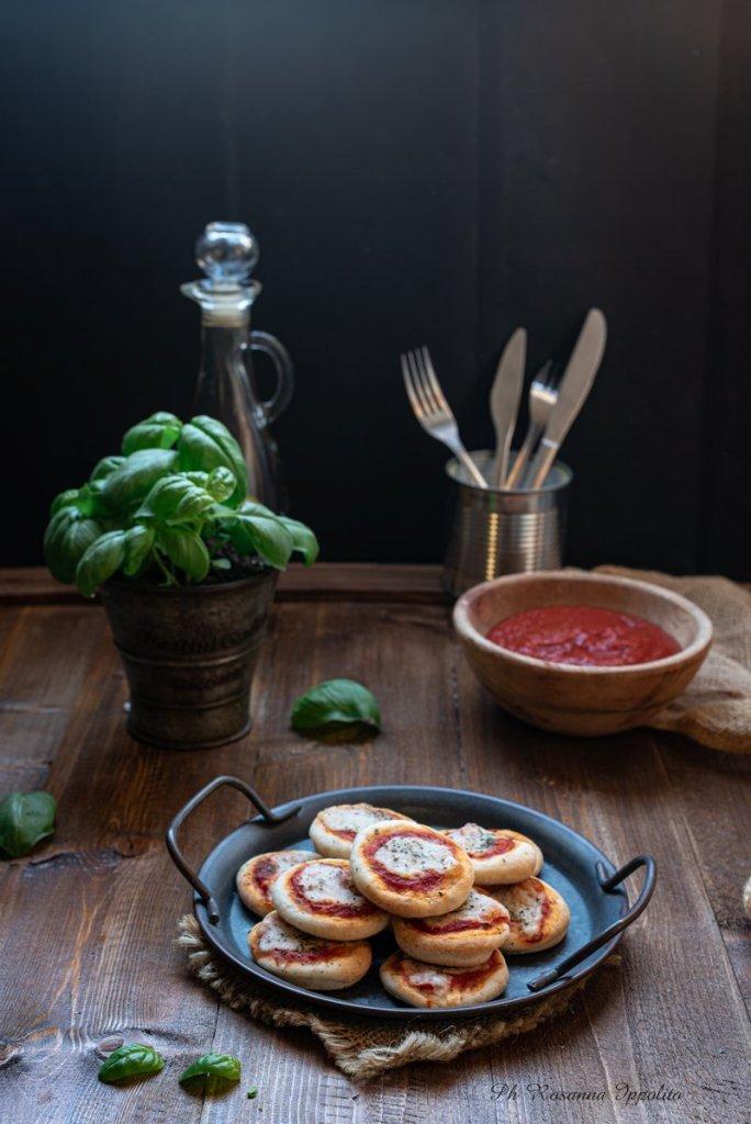 Pizzette buffet pasta brioche siciliana