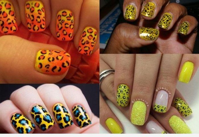Uñas De Leopardo Decora Tus Uñas Con Tu Lado Más Felino Uñas Pintadas