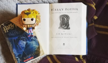 Book Club 5: Harry Potter and the Order of the Phoenix