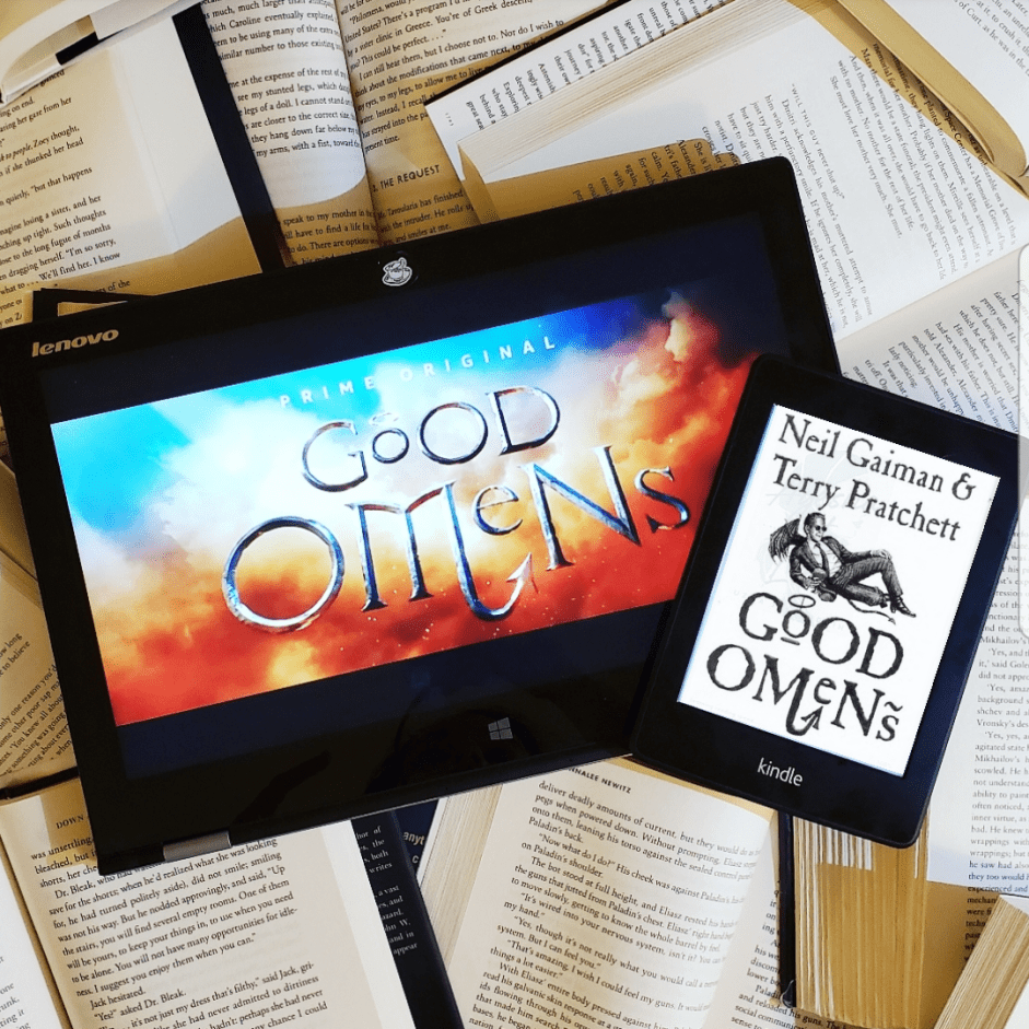 Book Talk 12: Let's Talk About Good Omens