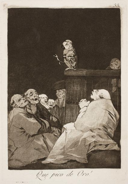Goya Qué pico de oro
