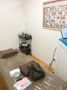 施術する部屋