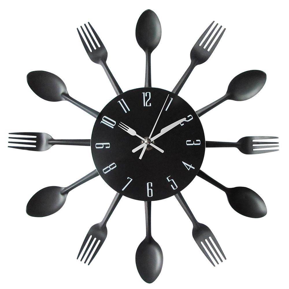 Reloj de pared divertido para cocina moderna  Una tienda diferente