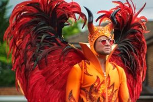 Taron Egerton as Elton in Rocketman
