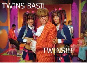 Twins Basil! Twins!