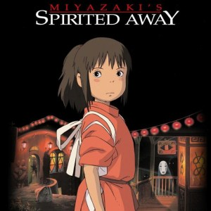 DVD Cover for Spirited Away movie