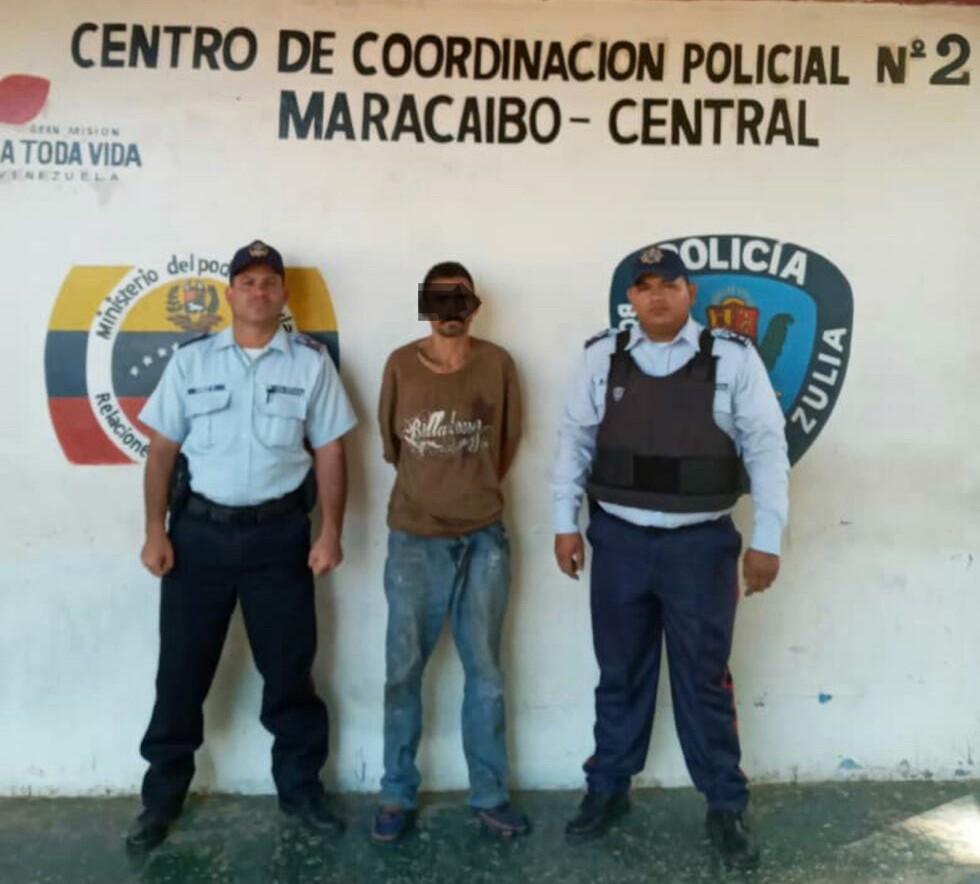 Recapturan a evadido tras ocultarse detrás de un árbol en la avenida Guajira de Maracaibo