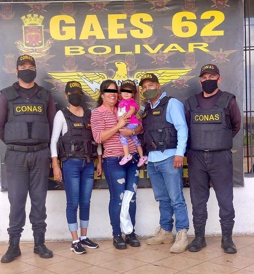 Rescatan dentro de la cárcel de Vista Hermosa en Bolívar a menor que había sido regalada por su madre