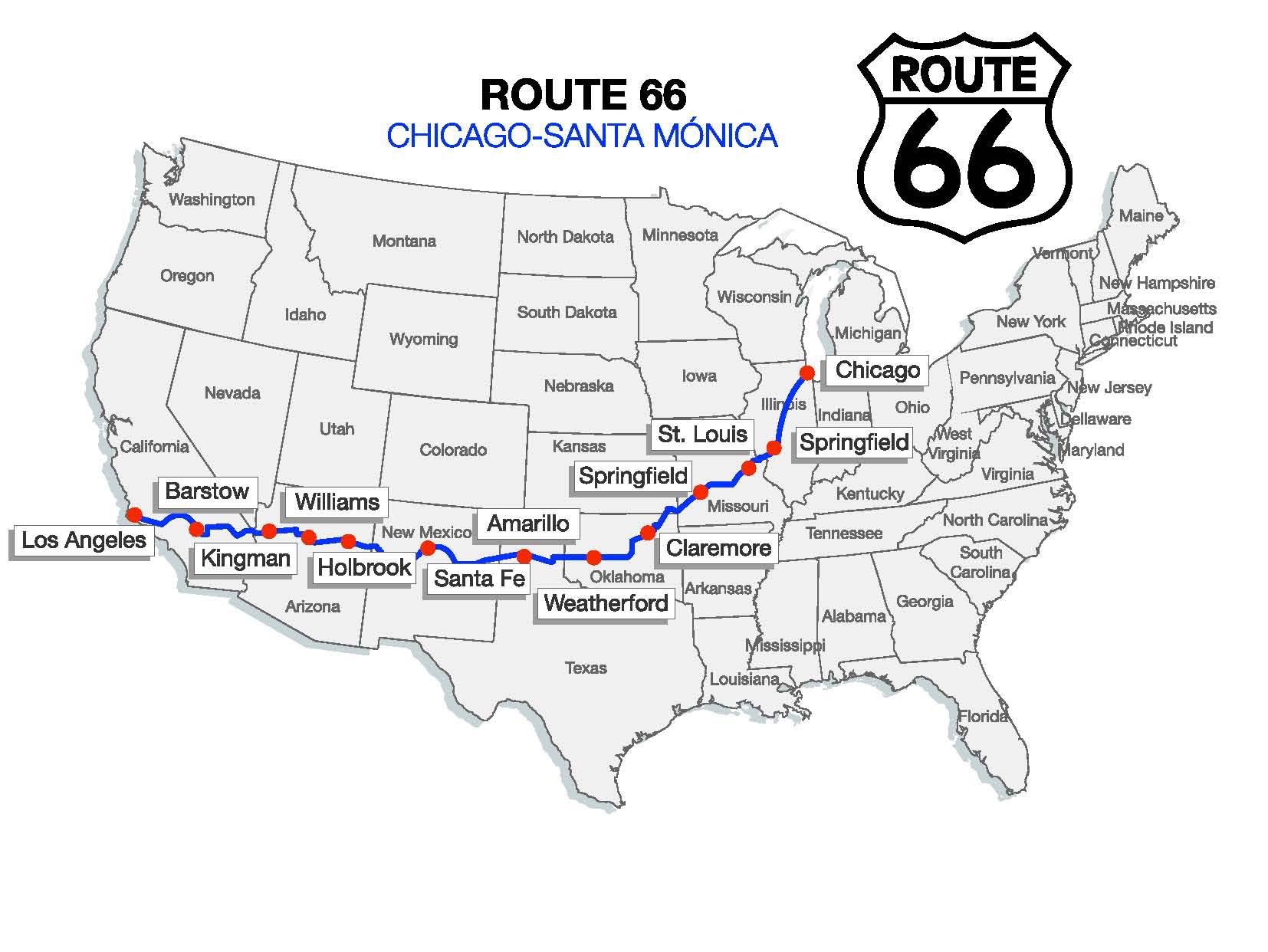 Ruta 66 The Main Street Of America