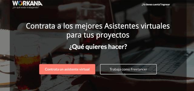 Workana Asistente Virtual