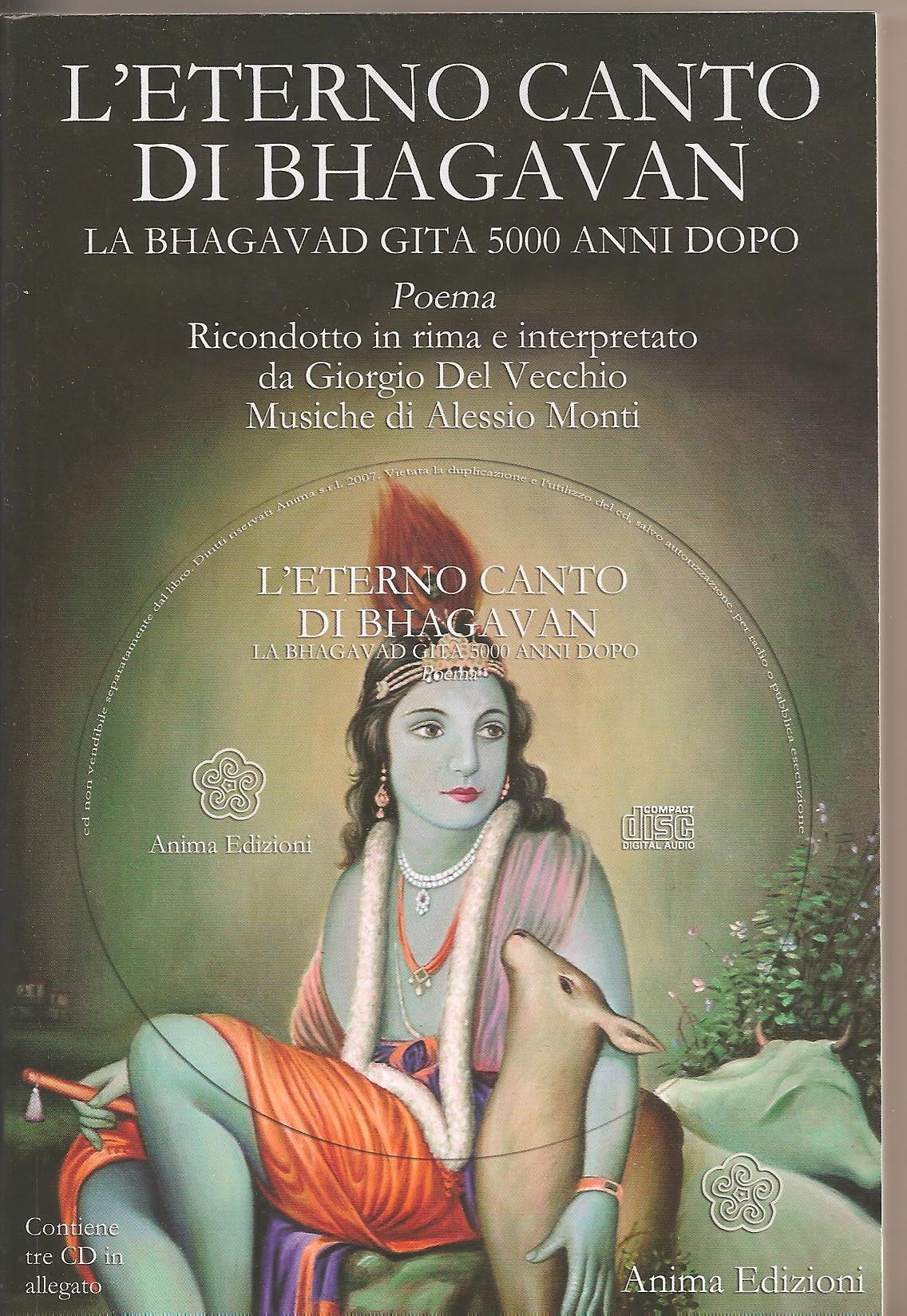 L'eterno canto di Bhagavan - Giorgio Del Vecchio (spiritualità)
