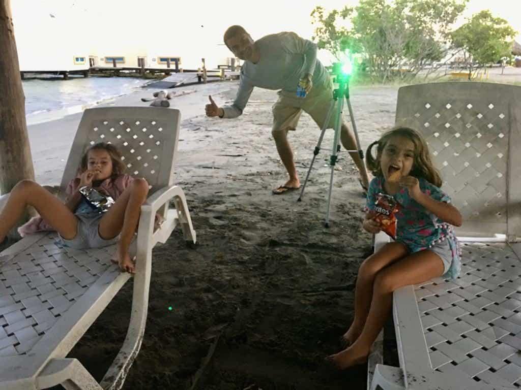 Tardes de Cine en la playa de Puerto Velero.