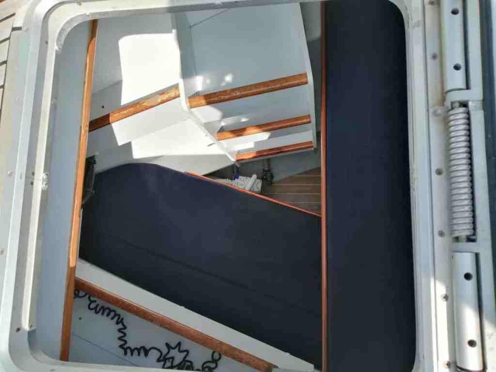 Camarote Skipper (Acceso por cubierta).