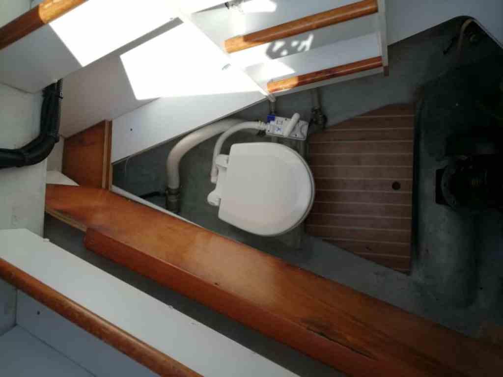 Camarote Skipper (Dispone de WC y lavabo).