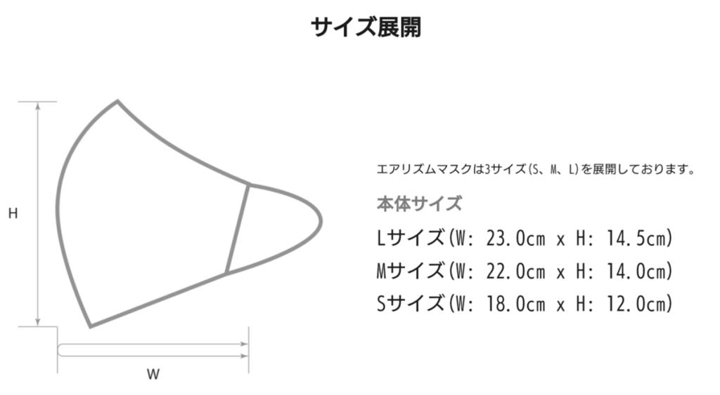 ユニクロ エアリズムマスク購入時 サイズに注意!