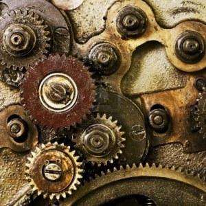 roue, engrenage, destin