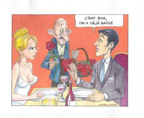humour couple saint valentin premier rendez vous