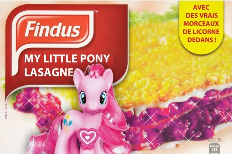 lasagnes findus cheval humour