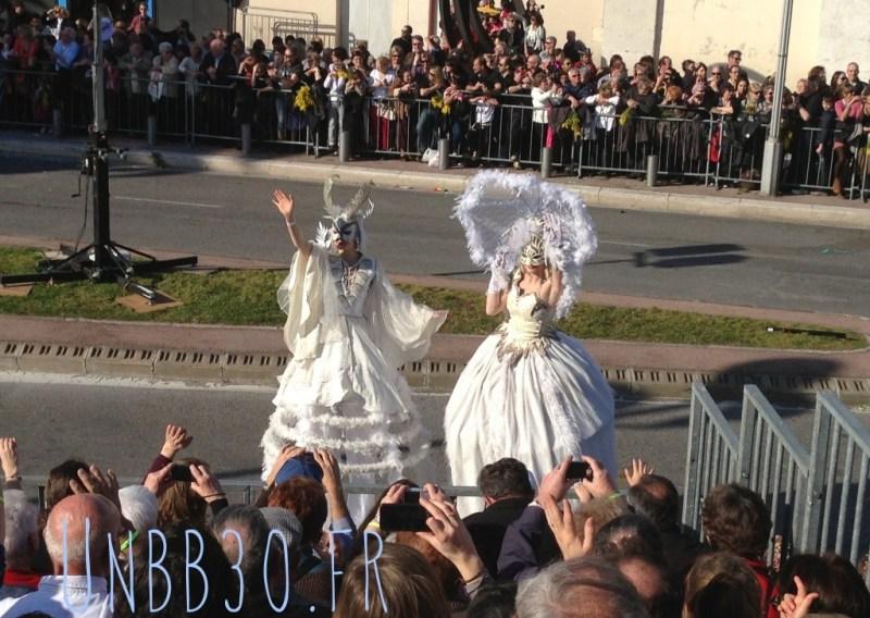 Battaile des Fleurs Carnaval de Nice