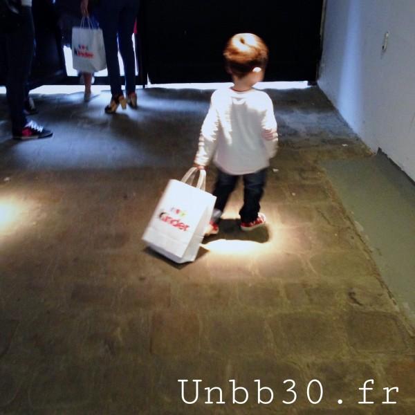 Mini Bn et son sac kinder