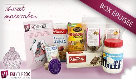 box septembre eat your box