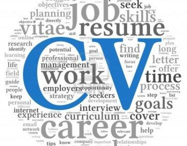 cv chercher du travail