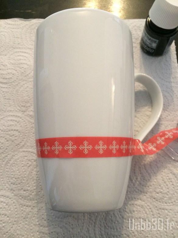 DIY mug ardoise