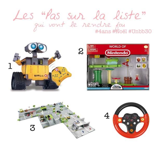 liste noel jouets divers