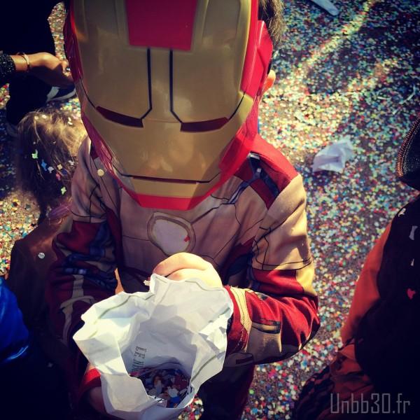 carnaval de l'école Iron Man