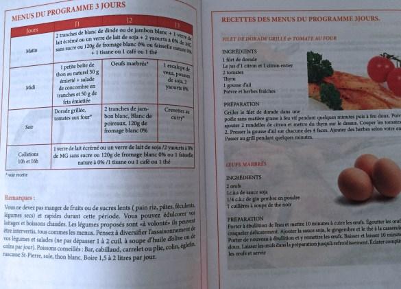 recettes 3j