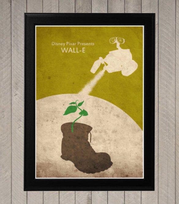 wall e affiche