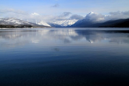 McDonald Lake, Glacier Nat. Park Info.