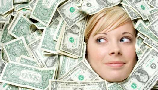 Girl in Money