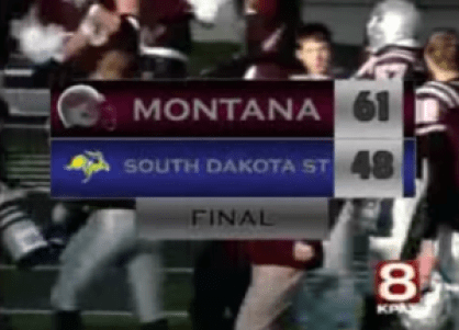 Montana Grizzlies v. South Dakota State Jackrabbits 2009