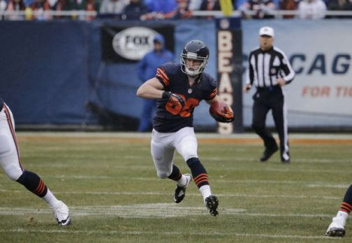 Marc Mariani with the Bears