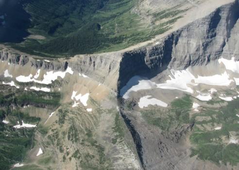 Tripple Divide Peak in Glacier National Park