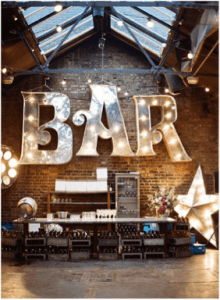 Re-Purposed Bar Sign