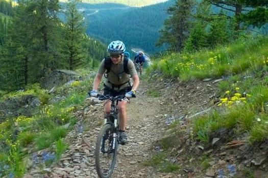 Mountain Bike at Snowbowl