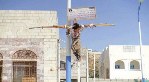 Crucifixion in Saudi Arabia