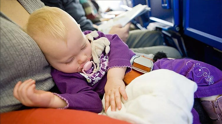 traveling with infants