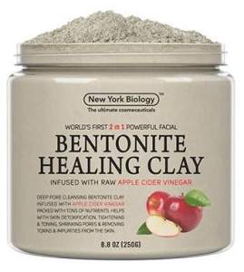 Bentonite Clay Mask Infused with Organic Apple Cider Vinegar