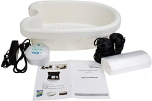 VITACITI PORTABLE IONIC DETOX FOOT BATH SPA MACHINE