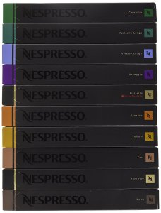 Nespresso OriginalLine Capsules Variety, 100 Count NOT compatible with Vertuoline machines