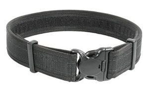 BLACKHAWK! 44B4LGBK Black Reinforced 2-Inch Web Duty Belt with Loop Inner - Large