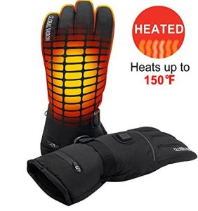 Rechargeable Battery Heated Gloves 3 Heat 7.4V