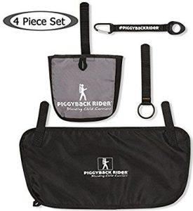 Piggyback Rider ACCESSORY PACK #1 Side Pocket, Water Bottle Holder, Mud Flap, Selfie Stick Holder