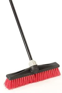 "O-Cedar Professional 18"" Rough-Surface Push Broom"